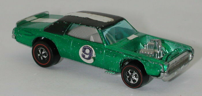 Redline Hotwheels Green 1970 TNT Bird oc14101
