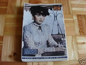 Ija Sawina front cover Polish mag Film 1960 - Pyszkowo, Polska - Ija Sawina front cover Polish mag Film 1960 - Pyszkowo, Polska