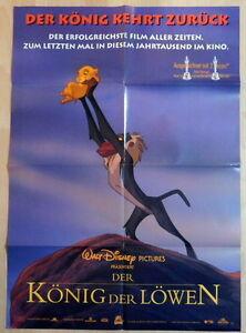 Walt Disney The Lion King Original 1 Sheet Movie Poster 1994 Ebay