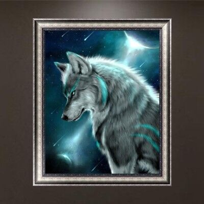 Indian style fox Diamond Embroidery 5D DIY Painting Cross Stitch Home Decor