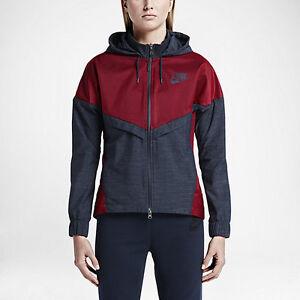 Nike Bonded Windrunner Women's Size X-Large / University Red/ Obsidian