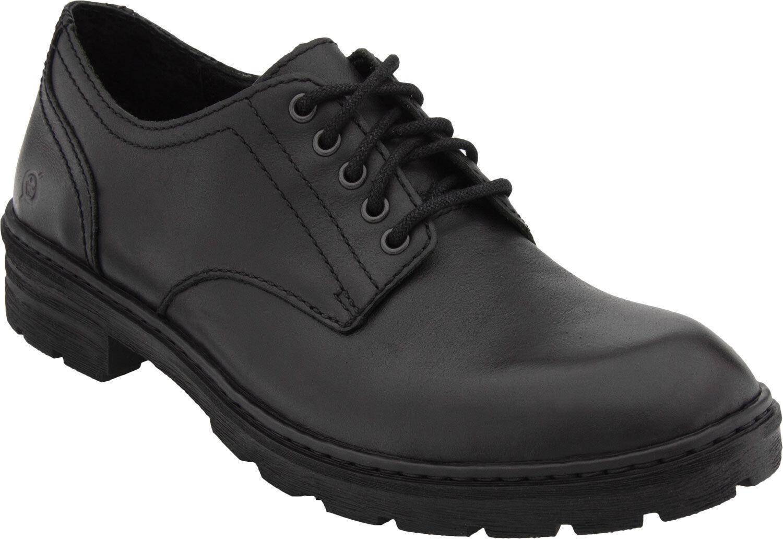 Men's Born Lace Up Casual Walking shoes Marlon Black H22903