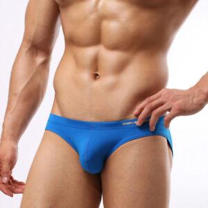 Men-039-s-Swim-Briefs-Comfortable-Sexy-Mini-Bikini-Underwear-Swimwear-Beach-Shorts
