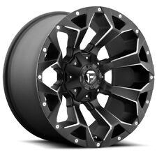 4 Fuel D546 Assault 20x9 6x1356x55 1mm Blackmilled Wheels Rims 20 Inch Fits Ram