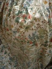 """Pair of Laura Ashley Vintage curtains pretty flowers  64""""w /46"""" l stunning"""