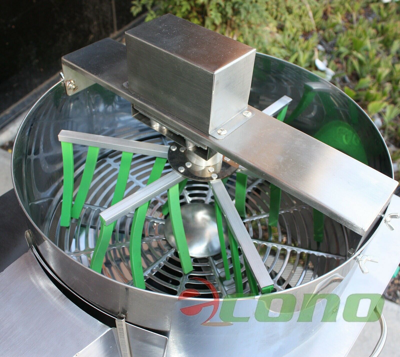 3 Speed Motorized Stainless Hydroponic Twisted Pro Leaf Trimmer Trim w/Top Spin