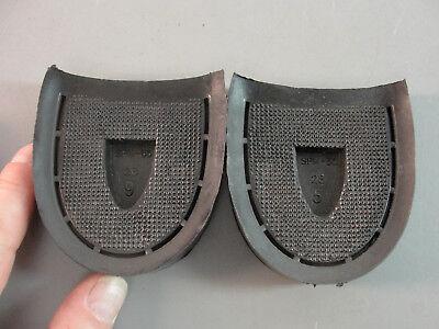 SOLE-TECH 6//8 REPLACEMENT SOLID BLACK BLOCK RUBBER HEEL SPM 56 #31 SHOE REPAIR