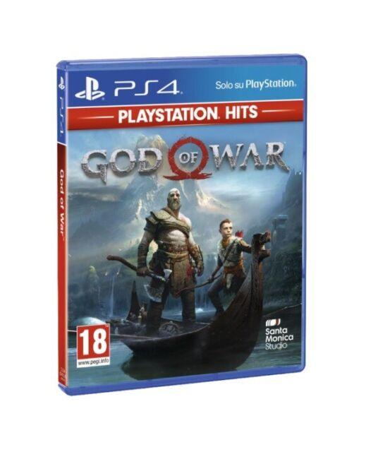GOD OF WAR PS4 HITS - PLAYSTATION 4 HITS - ITALIANO !!!