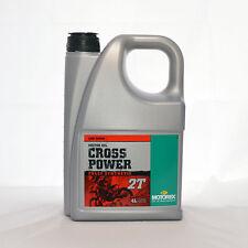 Motorex Cross Power 2T 4 Liter Flasche Öl Motoröl Motorenöl 2-Takt