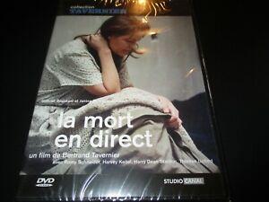 "RARE! DVD ""LA MORT EN DIRECT"" Romy SCHNEIDER, Harvey KEITEL / TAVERNIER"
