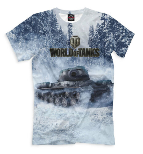 WOT official t-shirt world of tanks the military hardware winter war
