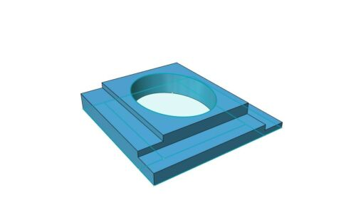 """Four 2 One Tile Spacers 1//16/"""" ..1//8/""""...3//16/""""...1//4/"""" all in ONE Tile Spacer."""