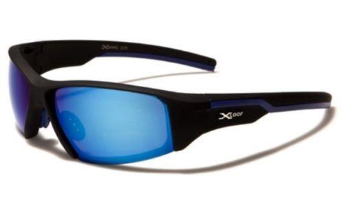 X Loop Sunglasses XL55305 UV400 Davis G7 black mirrored sunnies mens blue