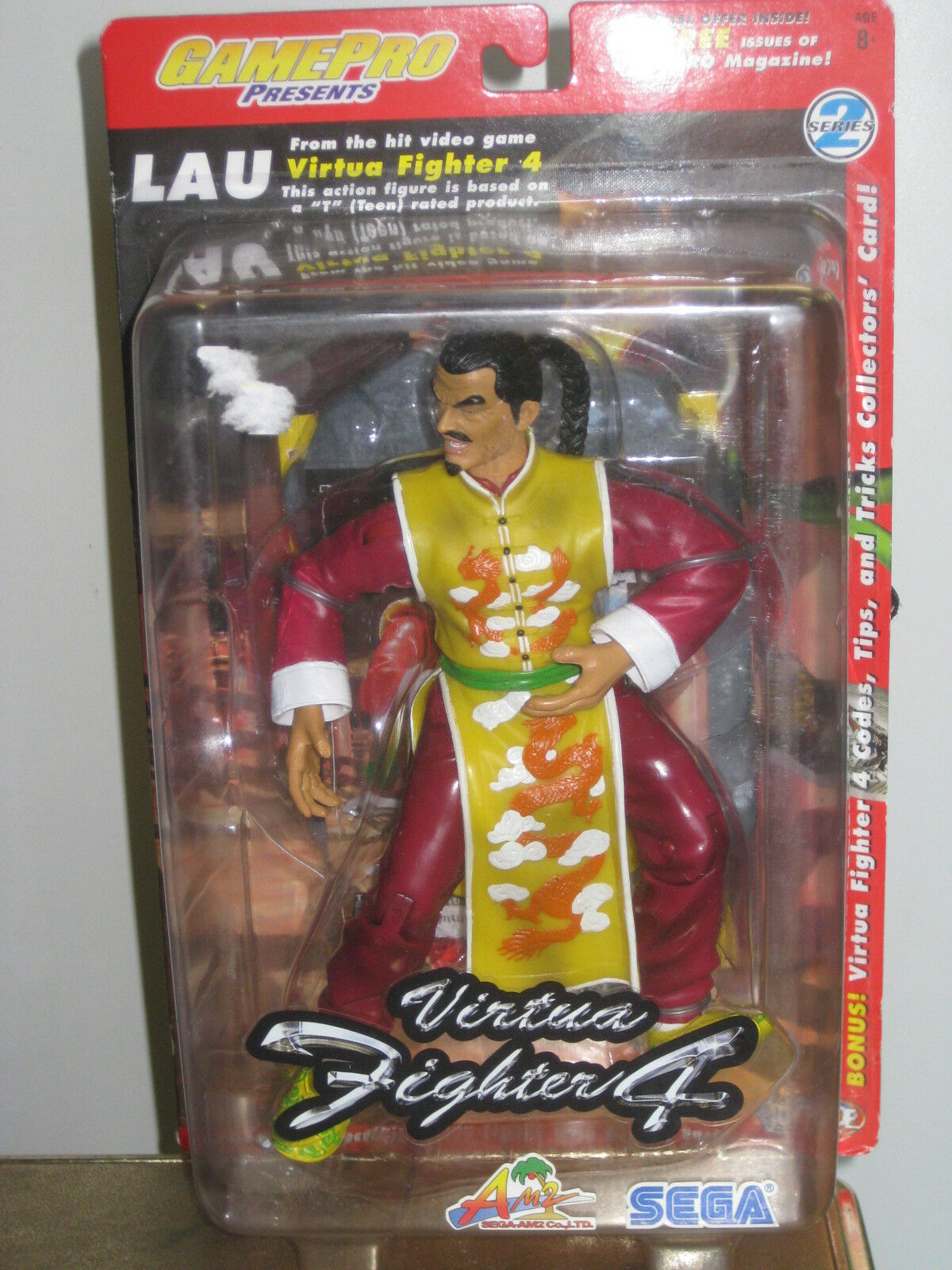 Joyride Virtua Fighter 4 Lau Chan Action Figure Gamepro