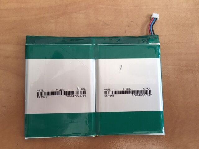 5 trozo Lipo batería 3,7v 14,8wh