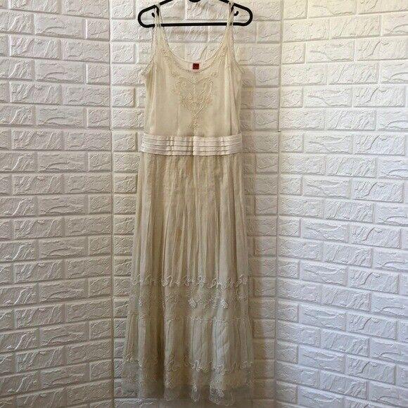 Yantha vintage look beaded wedding or summer dress
