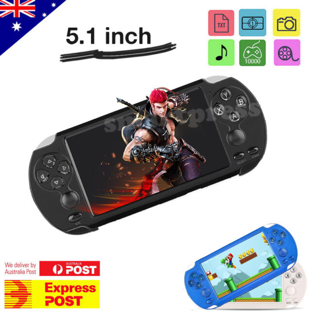 X9S 5.1 inch 8G 128Bit Retro Handheld Game Console MP3 MP4 Video Player Camera