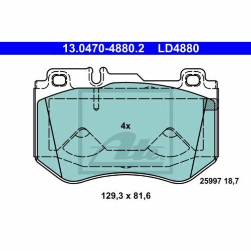 Bremsbelagsatz Scheibenbremse ATE Ceramic ATE 13.0470-4880.2