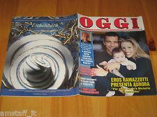 OGGI 1997/20=EROS RAMAZZOTTI=MICHELLE HUNZIKER=ALBERTO SORDI=VALENTINA PACE=