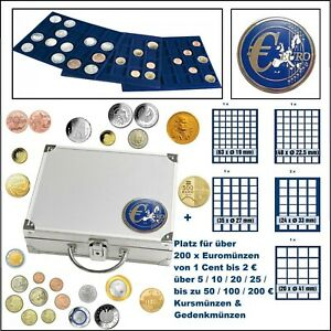 Safe-179-MIX-ALU-coin-case-Smart-Tableaux-For-214-Coins-To-1-5-8in