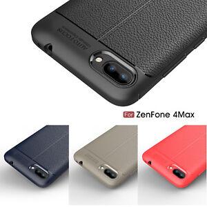 for asus zenfone 4 max plus zc554kl leather coated case. Black Bedroom Furniture Sets. Home Design Ideas