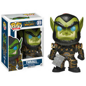 Funko Pop!   Figurine en vinyle Thrall Word Of Warcraft neuve et en stock - Très rare