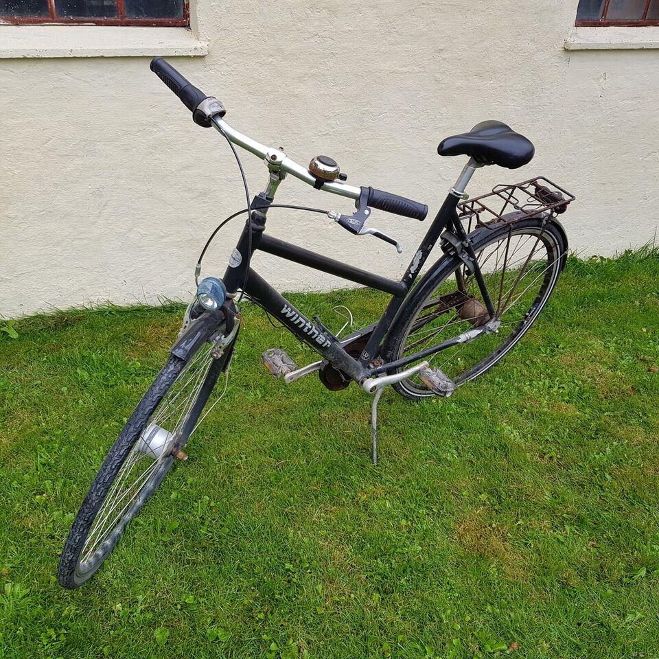 Damecykel, Winther, banegårdscykel