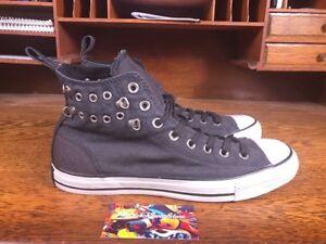 76a98b90b750e3 Converse Chuck Taylor All Star Eyelet Det Hi Top Black White Shoes ...