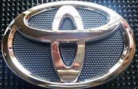 Toyota Emblem Front Grill Black Chrome Logo 140 X 96 Mm 75301-02010 Corolla