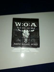 check out d883d 05987 Details zu W:O:A Zauberwürfel Merchandise Fanartikel Wacken Festival full  Metal Bag