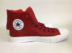 Image is loading Unisex-Converse-Hightop-Trainers-Signal-Red-Chuck-Taylor-