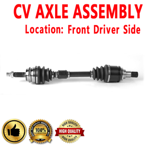 FRONT LEFT CV Axle For CAMRY Automatic Transmission L4 2357cc 2.4L 144cid LE