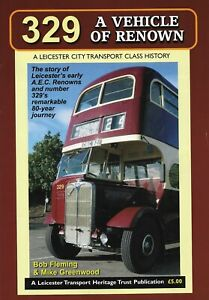 Leicester-City-Transport-AEC-Renown-329-book-publication