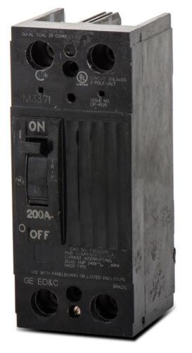 GE TQD22150WL 150A 240V 2P 10kA Lug-Lug Circuit Breaker