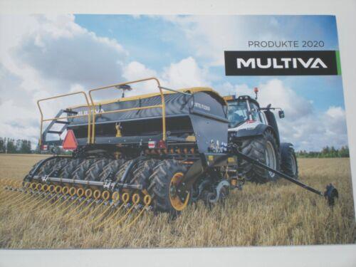 Drillmaschinen Prospekt 47 MULTIVA Produkte 2020 Eggen