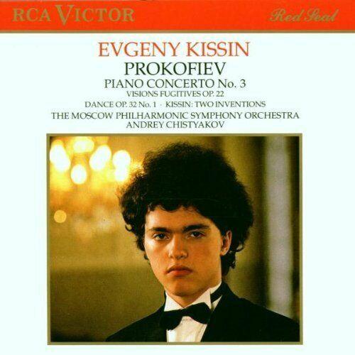 Prokofjew Piano concerto No. 3, op. 26/Visions fugitives, op. 22.. (RCA, .. [CD]
