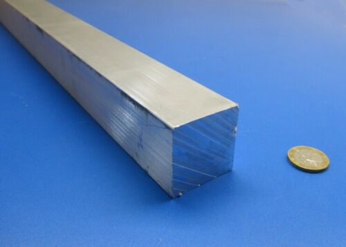"""6061 T651 Aluminum Square Bar 1 1//2/"""" Thick x 1 1//2/"""" Wide x 36/"""" Length"""