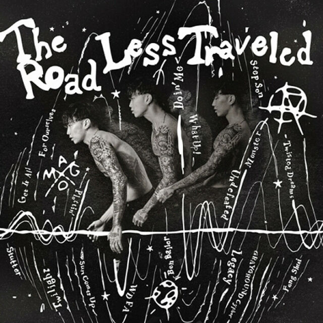 JAY PARK [THE ROAD LESS TRAVELED] 4th Album CD+Foto Buch PARK JAE-BEOM SEALED