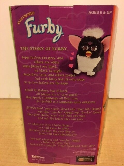 Vintage Rare Original Furby. Model 70-800. First Edition Tiger Tiger Tiger Electronics. NIB 1d6fa2
