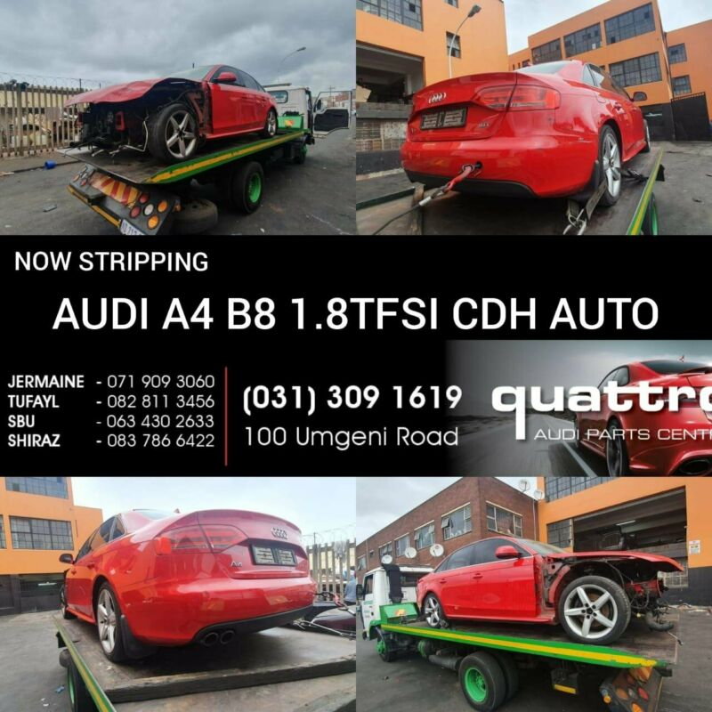 AUDI A4 B8 1.8TFSI AUTOSTRIPPING FOR SPARES