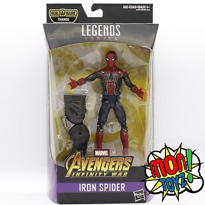 Marvel Legends-Avengers Infinity guerre Wave Iron Man Captain America Iron Spider