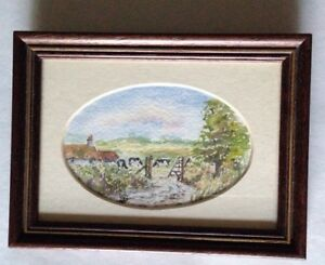 Original-watercolour-by-Stanley-C-Watts-farm-and-country-scene