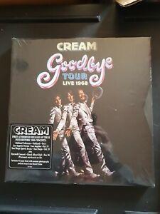 CREAM - goodbye tour live 1968 ; 3CD + Blu-Ray Deluxe Box Set