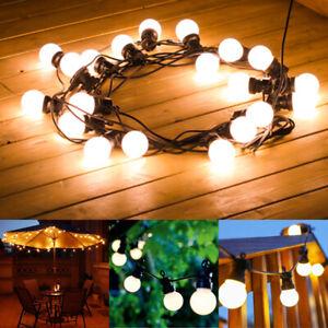 Details About G50 Led String Light Festoon Bulbs 220 240v Indoor Outdoor Waterproof Wedding Uk