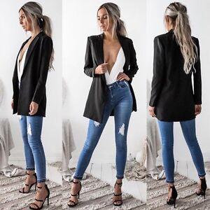 Fashion-Women-Ladies-Long-Sleeve-Casual-Business-Suit-Outwear-Jacket-Coat-Tops