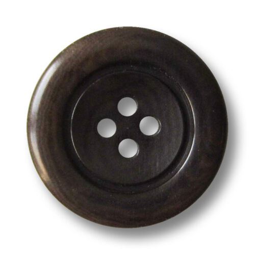 5 noble brun foncé vierloch boutons en véritable steinnuss sn009tb