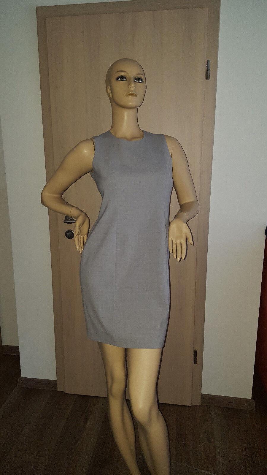 Damenkleid Etuikleid Businesskleid von La Rochelle, grau, Gr. 38. NEU