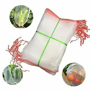 Bug Net Bag Garden Netting against Insects Barrier Bags for Plant&Fruits 27.5x41