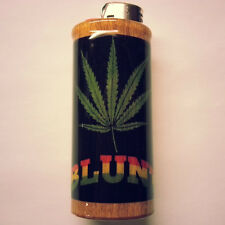Blunt Bic Lighter Case Weed Marijuana Ganja Holder Sleeve Cover