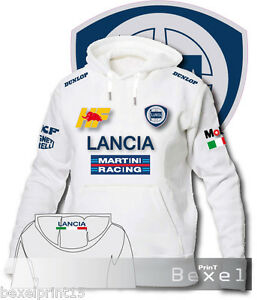 Martini Raging Delta Felpa Integrale Con Hf Cappuccio Stamp Lancia n8wTnPq0